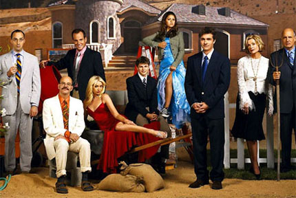 The Bluth Family from Arrested Development