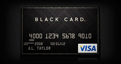 The New Visa Black Card To Compete With The Amex Centurion